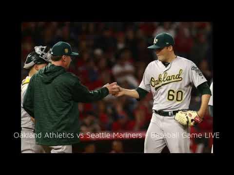 Oakland Athletics vs Seattle Mariners O.co Coliseum / Baseball 2018 / 22nd May