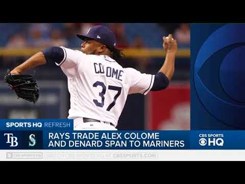 Rays trade OF Span, P Colome to Mariners – On CBS Sports HQ Tommy Tran discusses the details of the