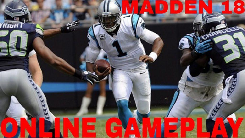 Madden 18 Online Gameplay (Carolina Panthers vs Seattle Seahawks)