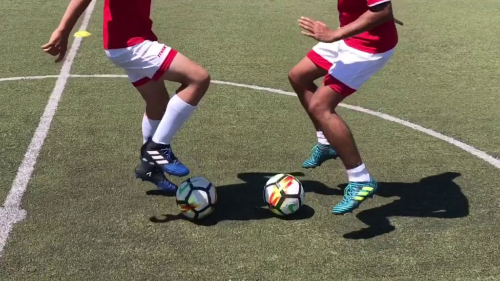 Ball mastery exercises – individual training plus