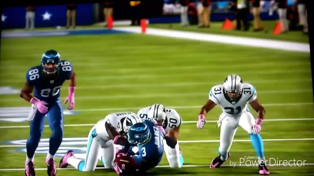 Madden NFL seahawks vs panthers ps3