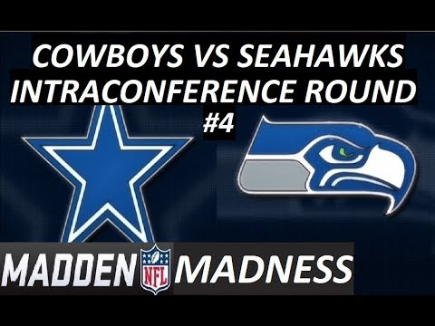 7 POINT GAME – Madden Madness – Round 3 Game 4 – Seattle Seahawks vs Dallas Cowboys