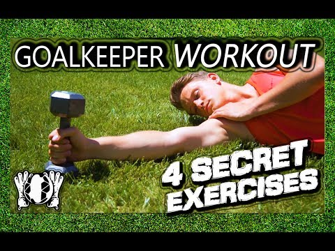 4 Secret Exercises to Improve Catching | Goalkeeper Specific Workout | Special | Part 1 | GKeeping