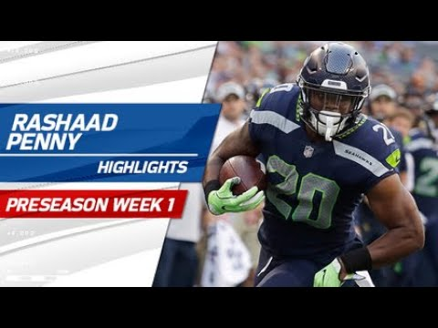 Every touch from Rashaad Penny's NFL debut | Preseason Week 1