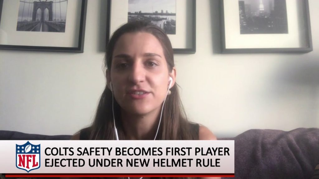 Here's Why First Ejection Under NFL's New Helmet Rule Is Good Sign – Indianapolis Colts safety Sham