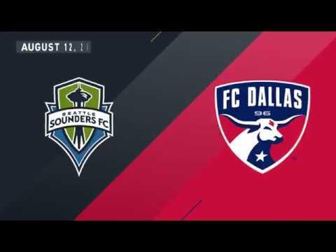 HIGHLIGHTS: FC Dallas 1, Seattle Sounder FC 2 l 8.12.18