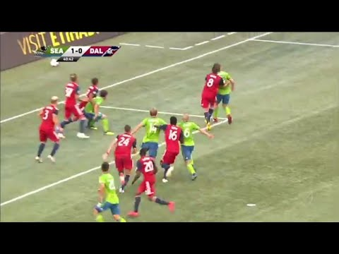 Chad Marshall Goal FC Dallas Vs Seattle Sounders 1 – 2 Highlight