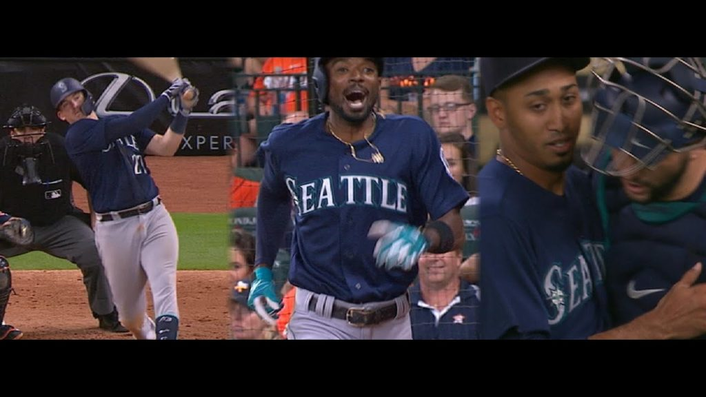 Must C Comeback: Mariners rally to sweep the Astros