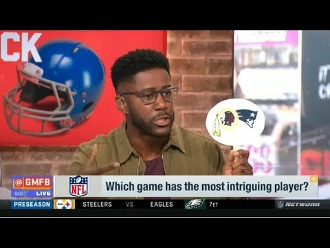 Good Morning Football 8/9/2018 – Will WR Odell Beckham Jr. play tonight?