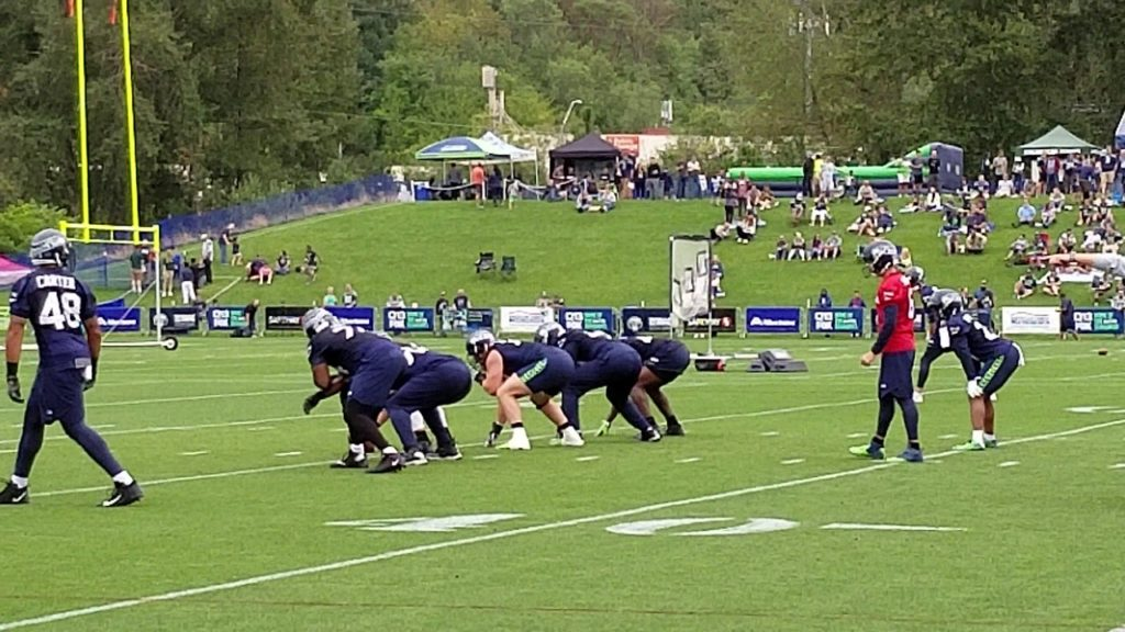 Seahawks practice August 12, 2018 full video