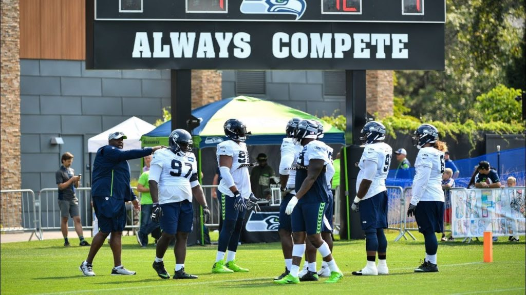 Seahawks Training Camp Day 12 Highlights