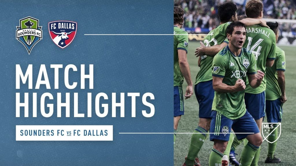 HIGHLIGHTS: Seattle Sounders FC vs. FC Dallas | August 12, 2018