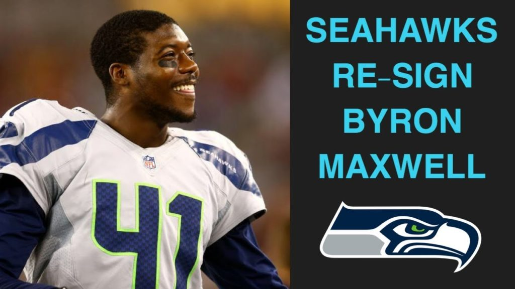 SEATTLE SEAHAWKS RE-SIGN BYRON MAXWELL 1 YEAR DEAL