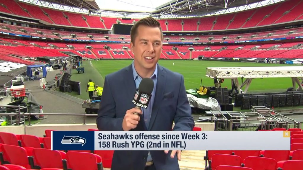 James Palmer Seattle Seahawks found their identity using run game to help play… | Oct 11, 2018