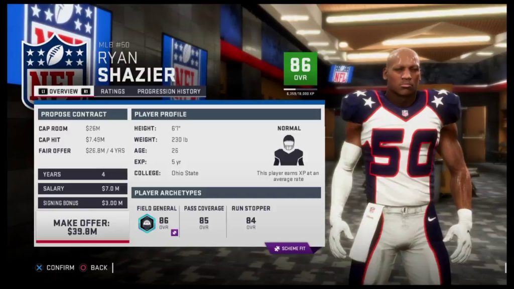 Madden 19 Rebuilding The Seahawks