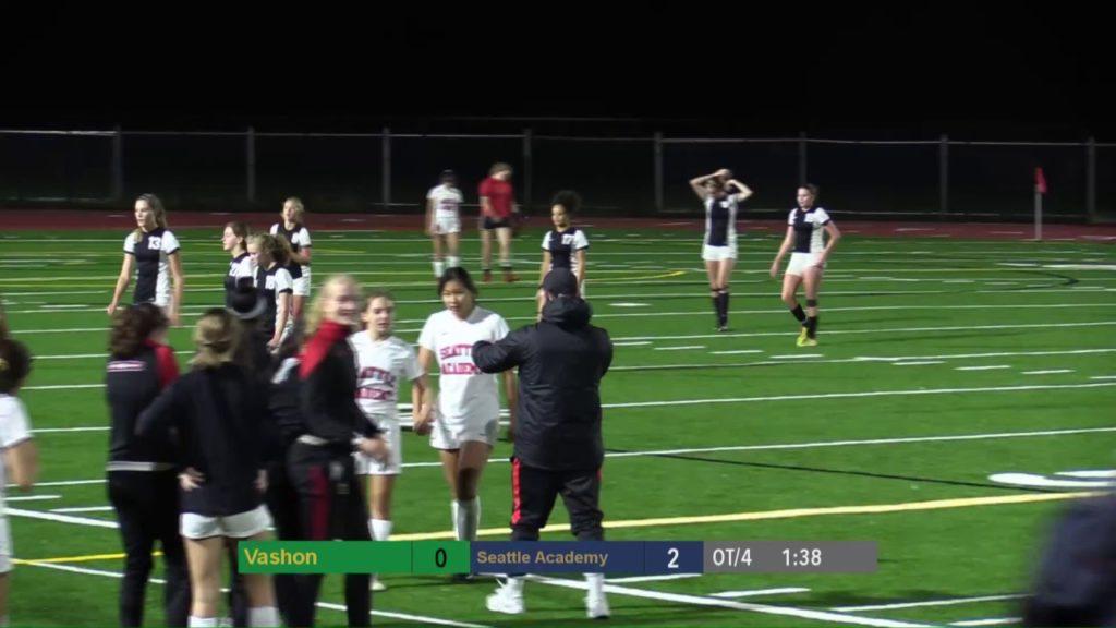 VHS Varsity Girls Soccer vs Seattle Academy