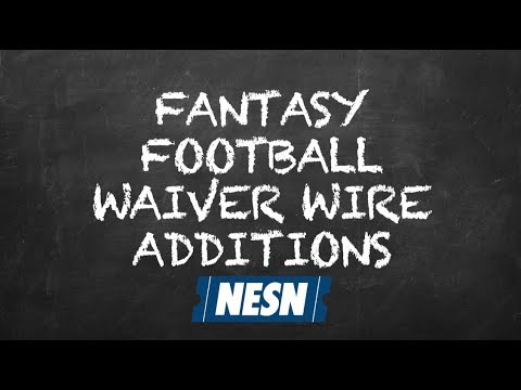 Who to add to your Fantasy Football team off the waiver wire