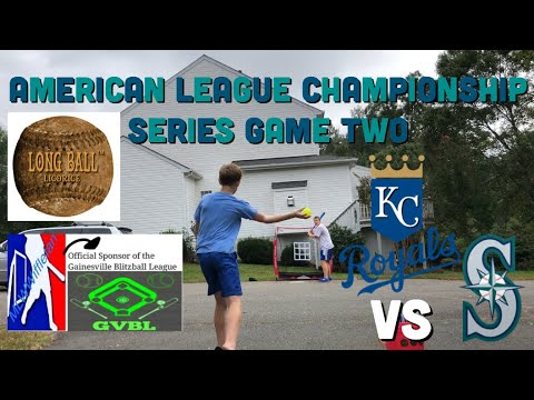 Put Away! ALCS Game Two GVBL 2018: Mariners vs Royals