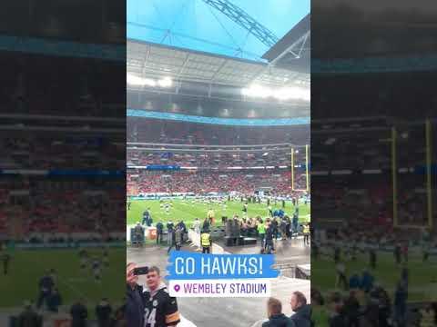Seahawks 27 vs Raiders 3 Wembley Stadium London 10/14/18