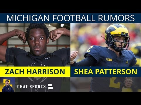 Michigan Football Rumors: Zach Harrison to Michigan? Tarik Black Playing? Shea Patterson's 2019 Plan