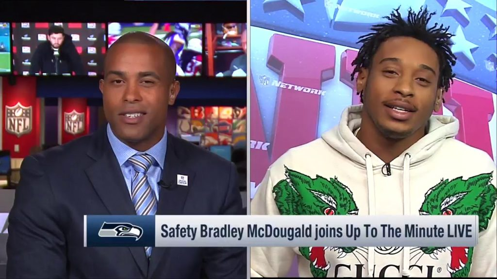 Bradley McDougald says Seahawks need to 'step up' into leadership