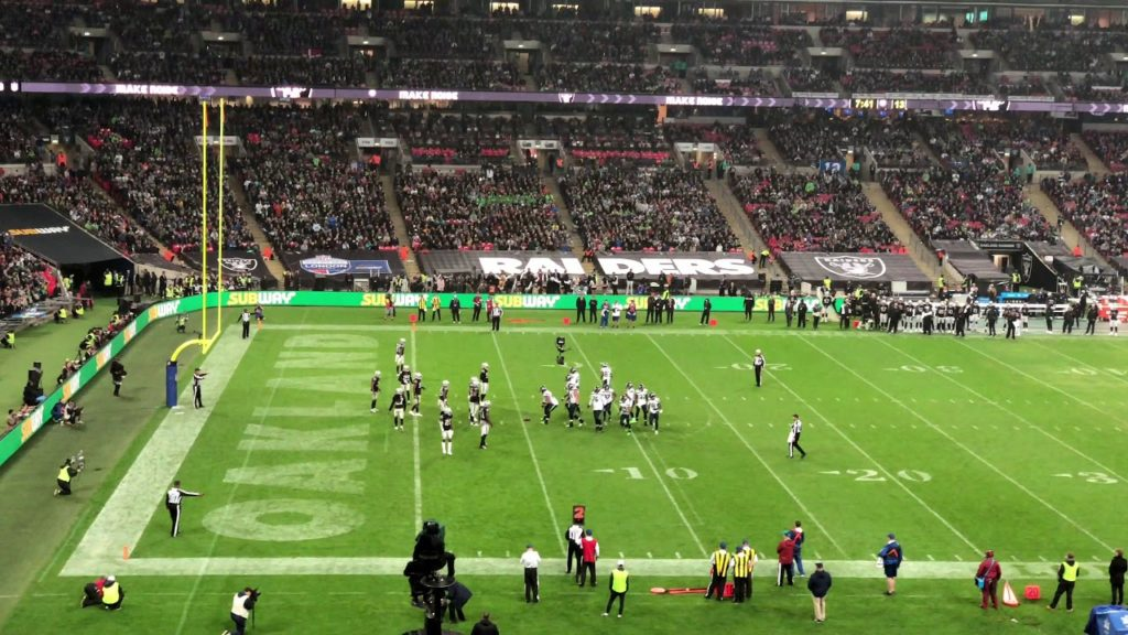 NFL London Games – Seahawks vs Raiders 14-10-2018