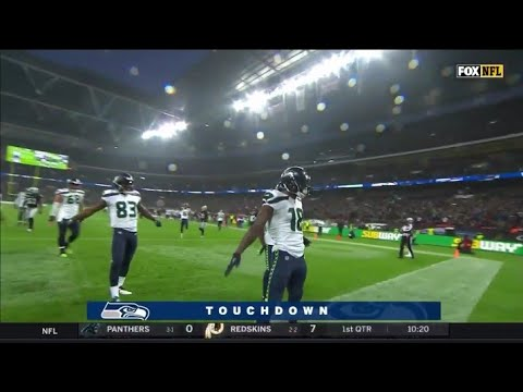 Russell Wilson 5-yard Touchdown to Jaron Brown Seahawks vs Raiders