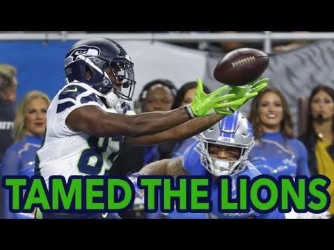 2018 Week 8 – Seahawks at Lions – Walk Talk Hawks – S2E10