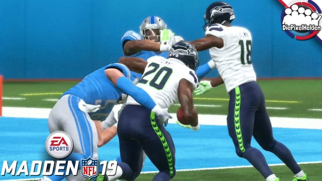 MADDEN NFL 19 FRANCHISE: SEAHAWKS #27 – Season 2 Week 2 // Lions – Lets Play Madden NFL 19