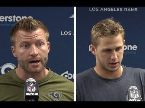 Los Angeles Rams postgame press conference Week 10 vs Seahawks