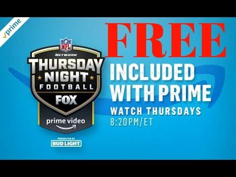 Stream NFL Thursday Night Football FREE Amazon Prime streaming Seattle Seahawks Green Bay Packers