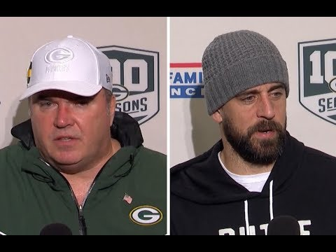 Green Bay Packers postgame press conference Week 11 vs Seahawks