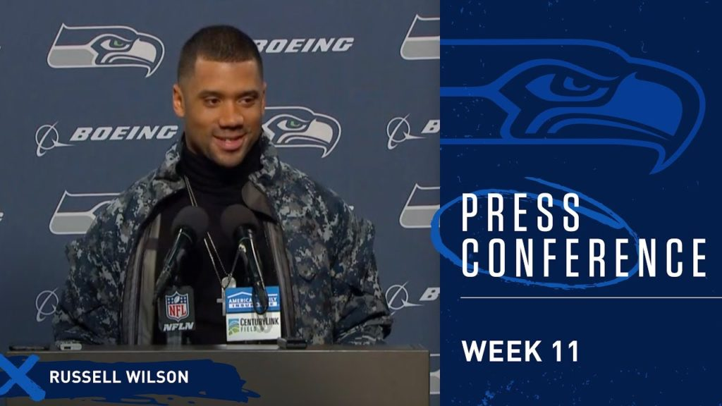 Seahawks Quarterback Russell Wilson Postgame Press Conference vs Packers