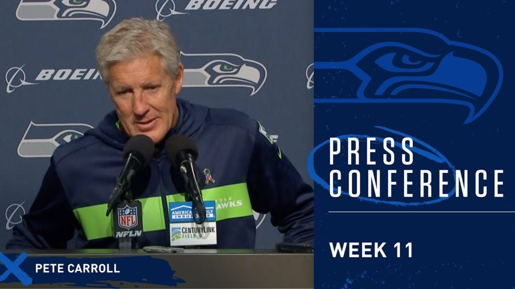 Seahawks Head Coach Pete Carroll Postgame Press Conference vs Packers