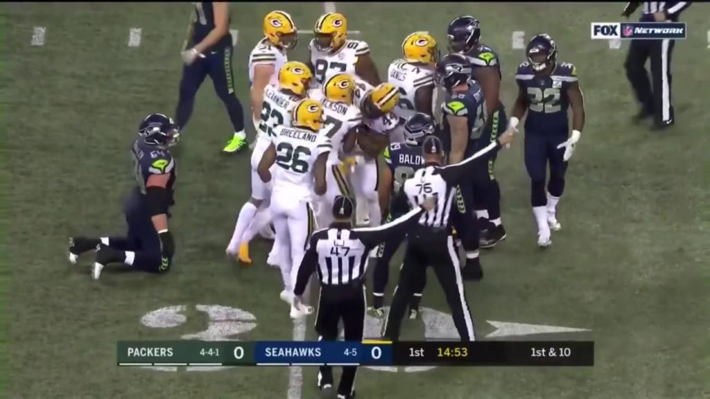 Packers vs Seahawks Week 11 Highlights | Nfl 2018