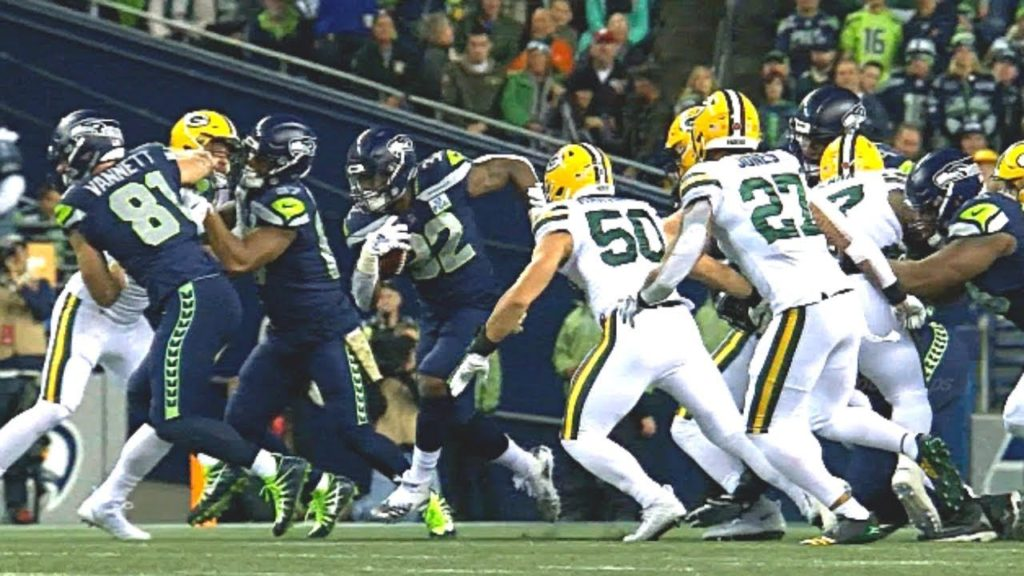 Packers at Seahawks  | 1H Highlights