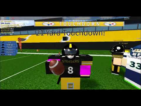 Legandary Football Steelers vs Seahawks (Couldn't finish game)