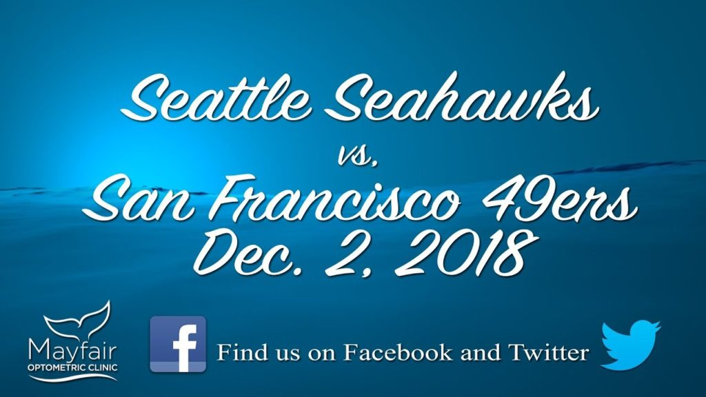 Seahawks Chat with Dr. Taylor and Mary Lou. Seahawks vs 49ers, 2018