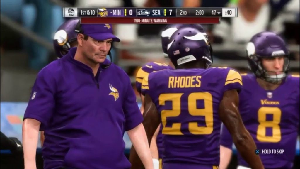 My First Gameplay!! Madden NFL 19 Seattle Seahawks vs Minnesota Vikings