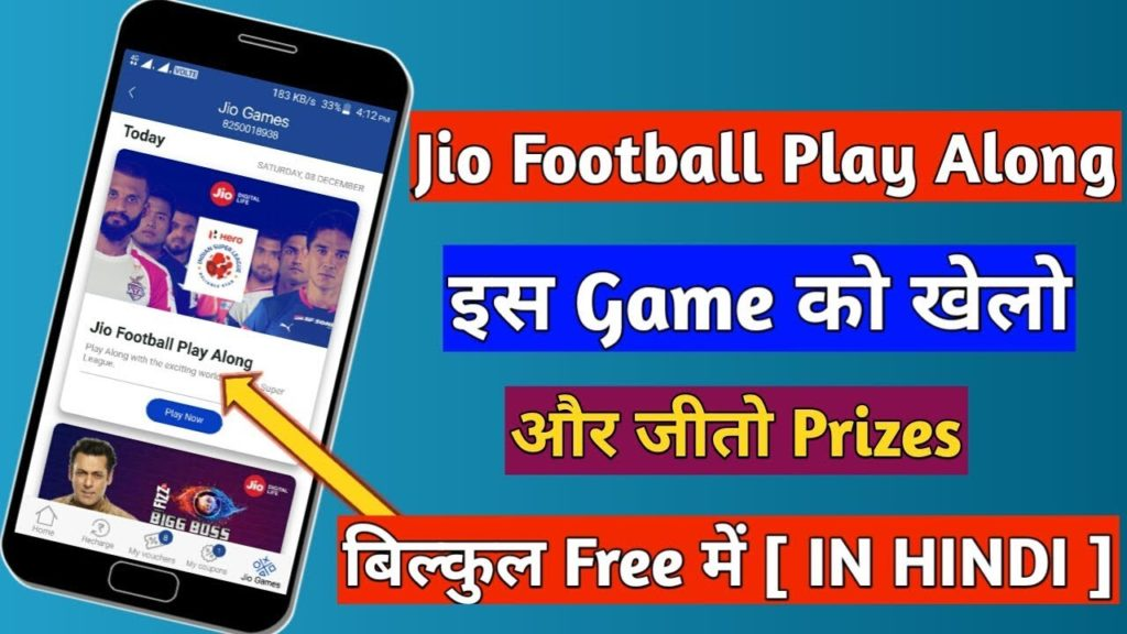 How to Play Jio Football Play Along Game in My Jio App | Jio ISL Offer Play ISL And Win Prizes