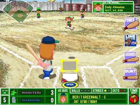 r/BackyardBaseball Season 3: Seattle Mariners, Game 5 (Part 2)
