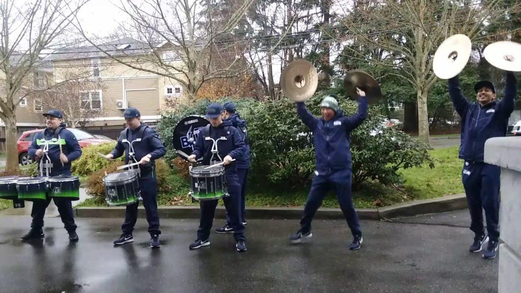 Seattle Seahawks Blue Thunder