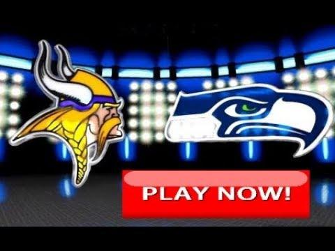 Minnesota Vikings vs Seattle Seahawks Full Game Live | NFL 2018