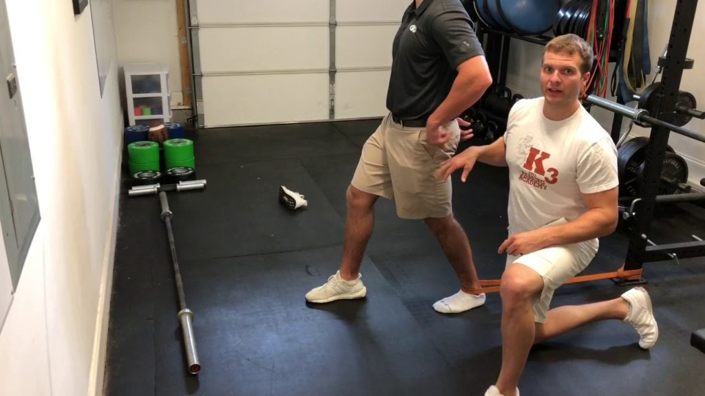 QB Docs Exercises: Ankle Opener To Increase Ankle Mobility For Football Players