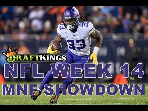 Week 14 NFL Monday Night Football DraftKings Showdown Picks Vikings-Seahawks – Awesemo.com