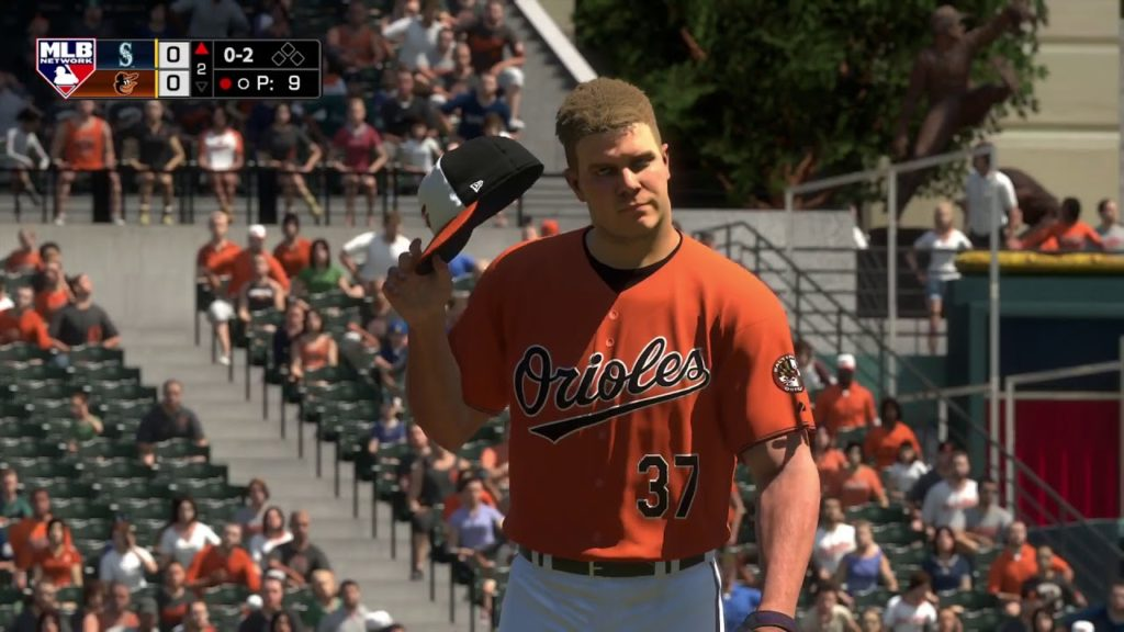 MLB The Show 18 – Orioles vs Mariners – FULL GAME