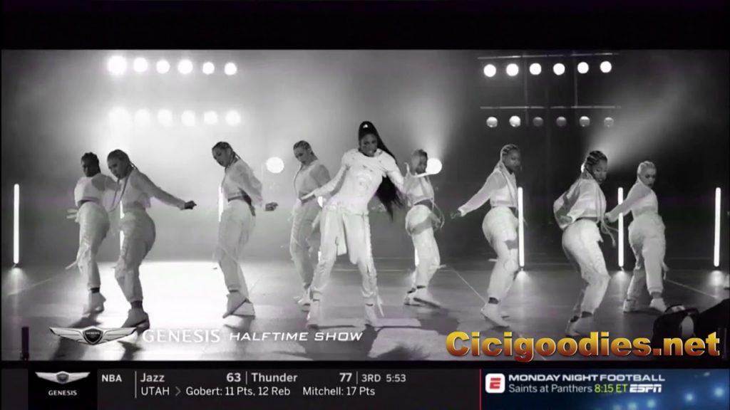 Ciara – Level Up (MNF Genesis Halftime Show 12-10-18)