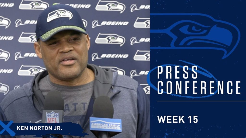 Seahawks Defensive Coordinator Ken Norton Jr. Week 15 Press Conference