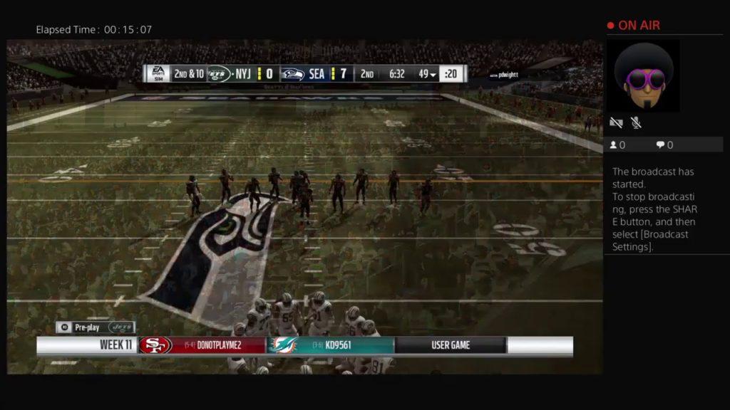 Jets vs Seahawks (Madden Finest) Week 11