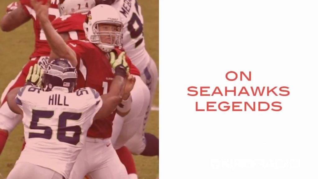 LB Leroy Hill joins Seahawks Legends with Gee Scott